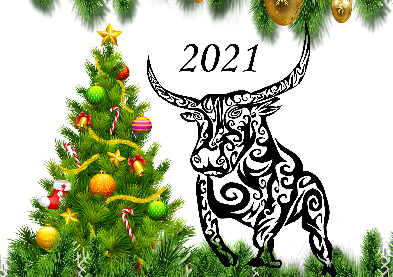 Поздравление с 2021 годом
